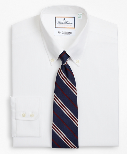 Luxury Collection Milano Slim-Fit Dress Shirt, Button-Down Collar Textured