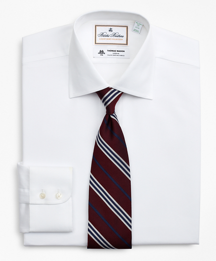 Luxury Collection Milano Slim-Fit Dress Shirt, Franklin Spread Collar Pique