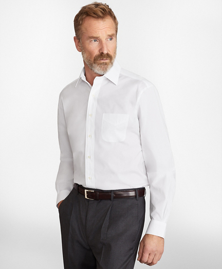 Madison Classic-Fit Dress Shirt, Performance Non-Iron with COOLMAX®, Ainsley Collar Broadcloth