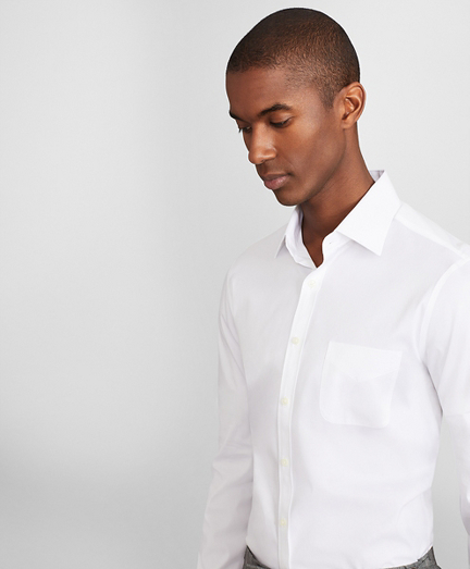 Soho Extra-Slim Fit Dress Shirt, Performance Non-Iron with COOLMAX®, Ainsley Collar Twill