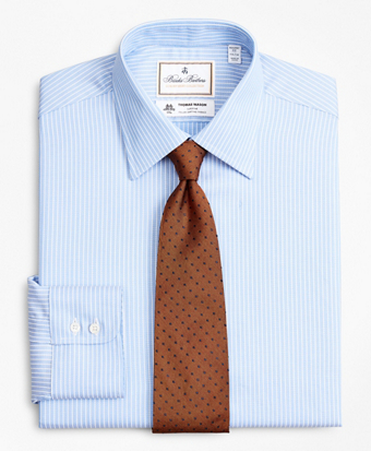 Luxury Collection Regent Fitted Dress Shirt, Franklin Spread Collar Ground Stripe
