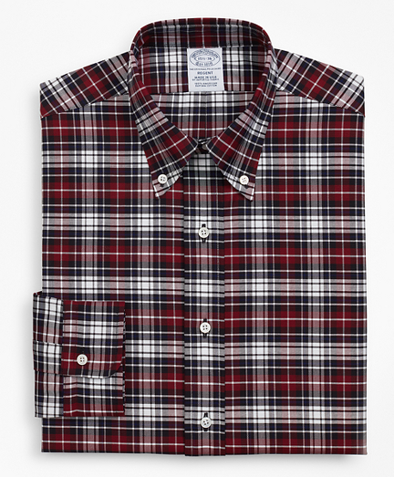 Original Polo® Button-Down Oxford Regent Fitted Dress Shirt, Plaid