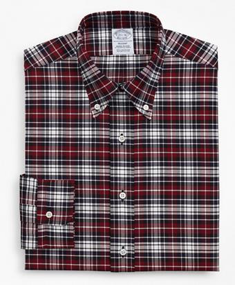 Original Polo® Button-Down Oxford Regent Fitted Dress Shirt, Plaid