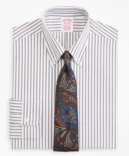 Original Polo® Button-Down Oxford Madison Classic-Fit Dress Shirt, Stipe