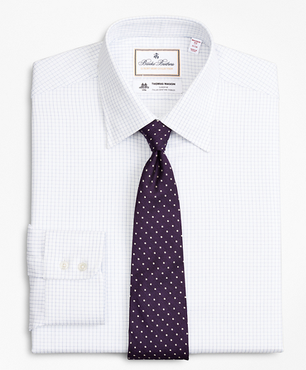 Luxury Collection Madison Classic-Fit Dress Shirt, Franklin Spread Collar Fine Windowpane