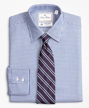 Luxury Collection Madison Classic-Fit Dress Shirt, Franklin Spread Collar Gingham
