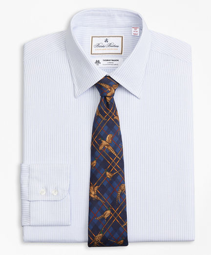 Luxury Collection Madison Relaxed-Fit Dress Shirt, Franklin Spread Collar  Textured Stripe