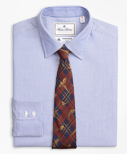 Luxury Collection Madison Classic-Fit Dress Shirt, Franklin Spread Collar Track Stripe