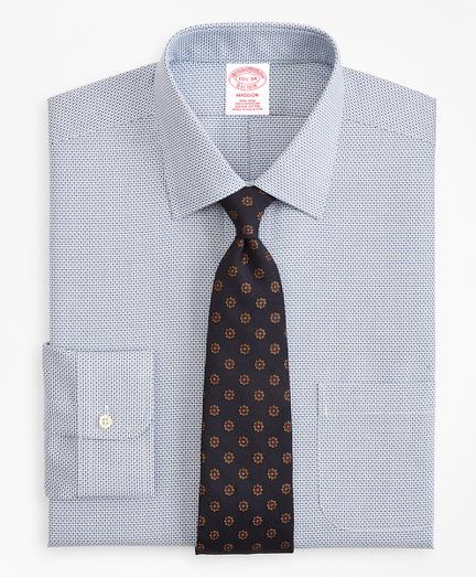 Madison Classic-Fit Dress Shirt, Non-Iron Micro-Check
