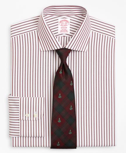 Madison Classic-Fit Dress Shirt, Non-Iron Stripe