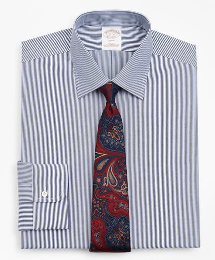 Stretch Soho Extra-Slim Fit Dress Shirt, Non-Iron Stripe