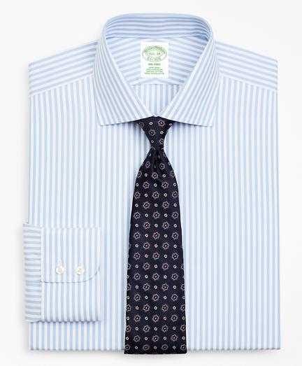Milano Slim-Fit Dress Shirt, Non-Iron Stripe