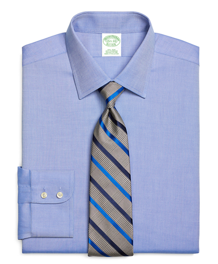Milano Slim-Fit Dress Shirt, Non-Iron Royal Oxford