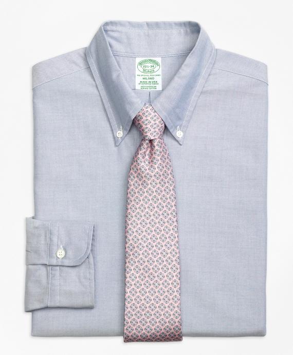 Original Polo® Button-Down Oxford Milano Slim-Fit Dress Shirt Blue