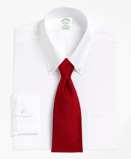 Milano Slim-Fit Dress Shirt, Button-Down Collar