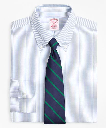Original Polo® Button-Down Oxford Madison Classic-Fit Dress Shirt, Stripe