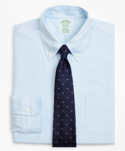 Brooksbrothers Original Polo Button-Down Oxford Milano Slim-Fit Dress Shirt