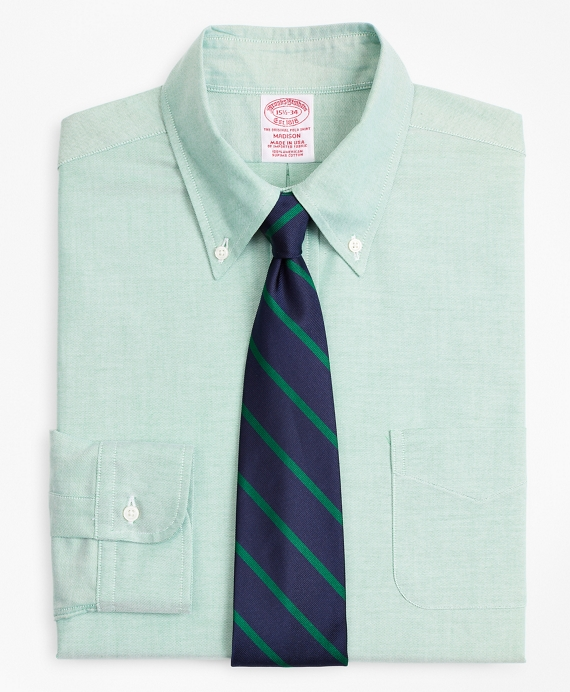 Original Polo® Button-Down Oxford Madison Relaxed-Fit Dress Shirt Green