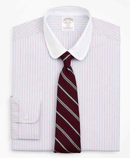 Stretch Soho Extra-Slim Fit Dress Shirt, Non-Iron Double-Stripe
