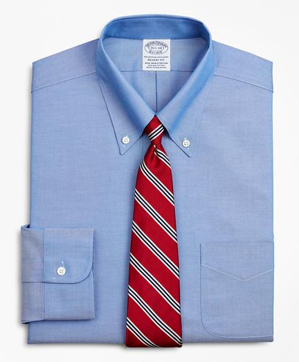 Stretch Regent Fitted Dress Shirt, Non-Iron Button-Down Collar