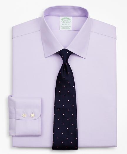 Stretch Milano Slim-Fit Dress Shirt, Non-Iron Twill Ainsley Collar