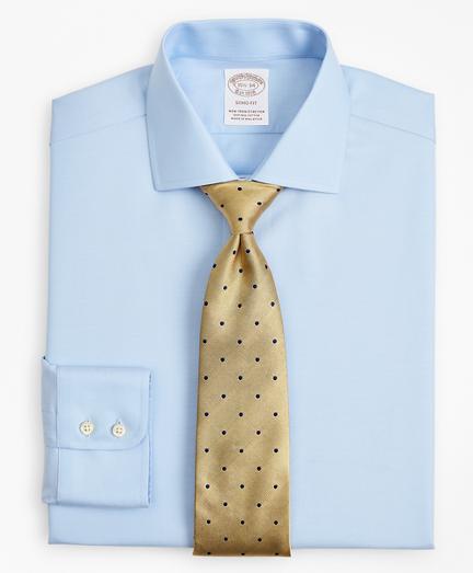 Stretch Soho Extra-Slim-Fit Dress Shirt, Non-Iron Twill English Collar