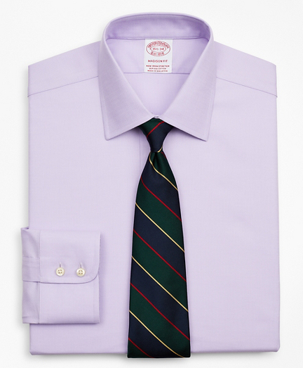 Stretch Madison Classic-Fit Dress Shirt, Non-Iron Royal Oxford Ainsley Collar