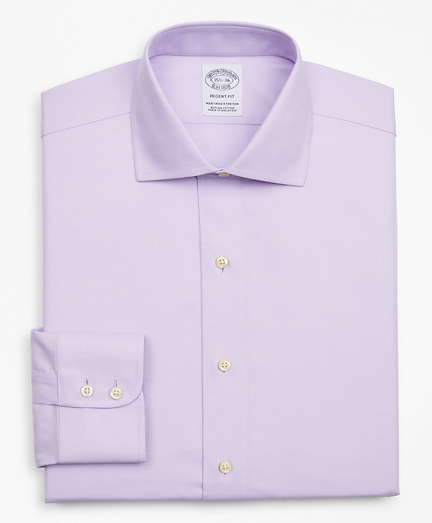 Stretch Regent Fitted Dress Shirt, Non-Iron Royal Oxford English Collar