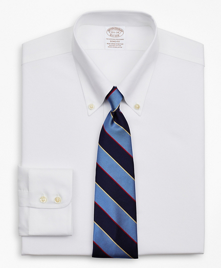 Stretch Soho Extra-Slim-Fit Dress Shirt, Non-Iron Royal Oxford Button-Down Collar