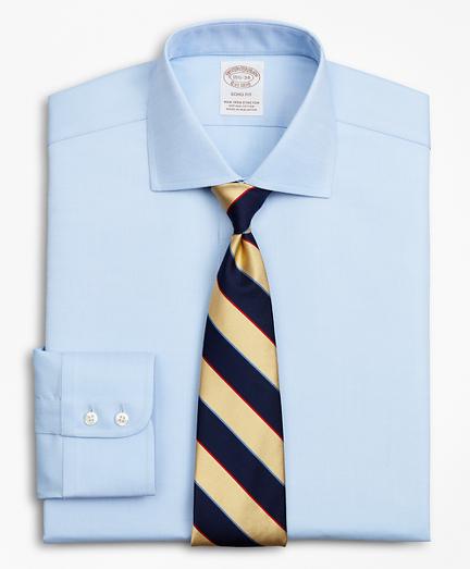 Stretch Soho Extra-Slim-Fit Dress Shirt, Non-Iron Royal Oxford English Collar