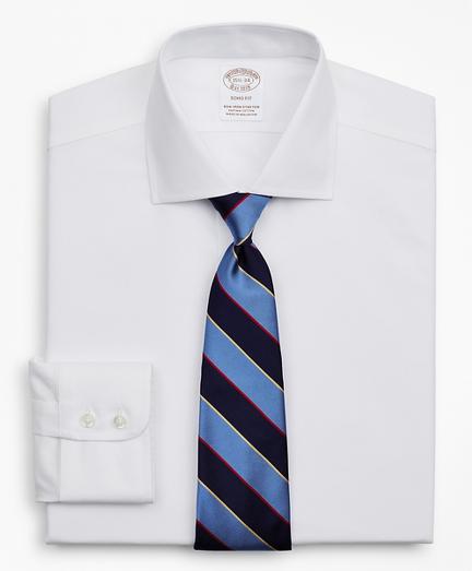 Brooksbrothers Stretch Soho Extra-Slim-Fit Dress Shirt, Non-Iron Royal Oxford English Collar