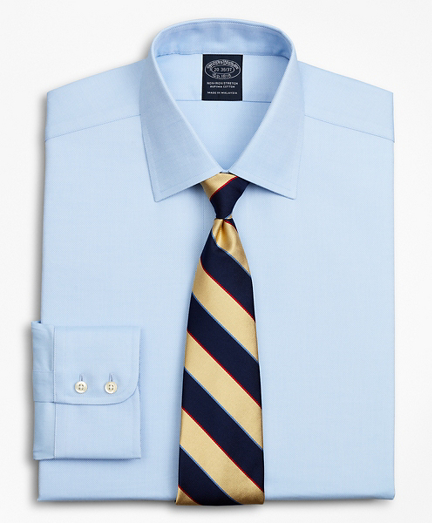 Stretch Big & Tall Dress Shirt, Non-Iron Royal Oxford Ainsley Collar