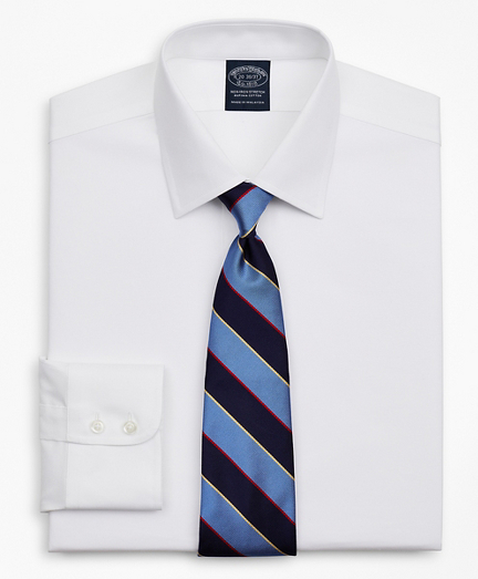 Stretch Big & Tall Dress Shirt, Non-Iron Royal Oxford Ainsley Collar