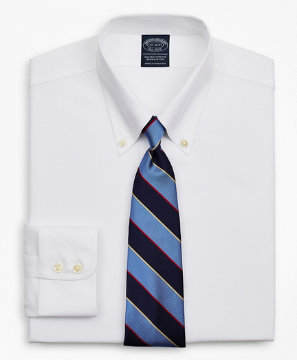 Stretch Big & Tall Dress Shirt, Non-Iron Royal Oxford Button-Down Collar