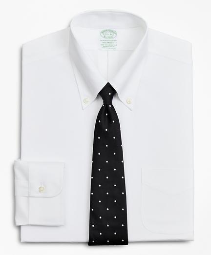Stretch Milano Slim-Fit Dress Shirt, Non-Iron Poplin Button-Down Collar