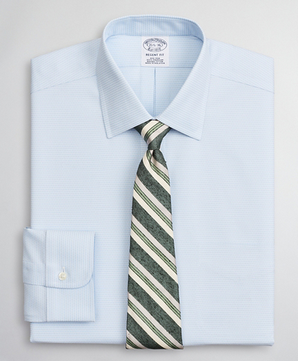 Brooksbrothers Regent Fitted Dress Shirt, Non-Iron Dobby Ainsley