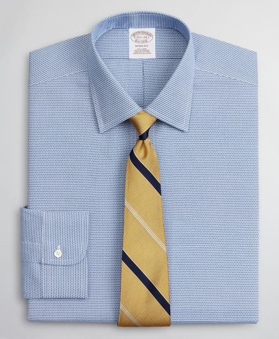 Soho Extra-Slim-Fit Dress Shirt, Non-Iron Dobby Ainsley Blue
