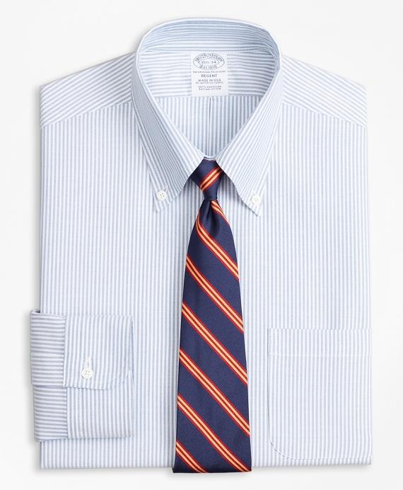 Original Polo® Button-Down Oxford Regent Regular-Fit  Dress Shirt, Bengal Stripe Blue