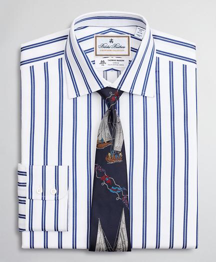 Luxury Collection Regent Regular-Fit Dress Shirt, Franklin Spread Collar Double Stripe
