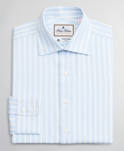 Luxury Collection Madison Relaxed-Fit Dress Shirt, Franklin Spread Collar Stripe