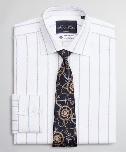 Luxury Collection Soho Extra-Slim-Fit Dress Shirt, Franklin Spread Collar Pinstripe