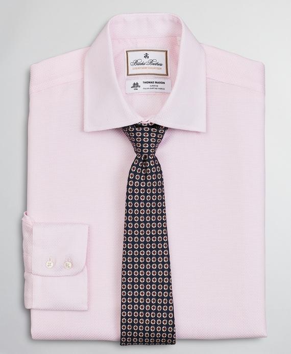 Luxury Collection Regent Regular-Fit Dress Shirt, Franklin Spread Collar Textured Pink