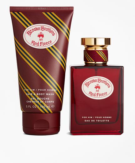 Red Fleece Fragrance Gift Set