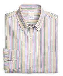 Golden Fleece® Slim Fit Multi Stripe Sport Shirt