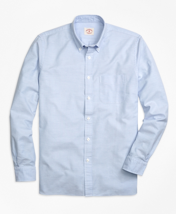 Men 39 S Solid Oxford Sport Shirt Brooks Brothers