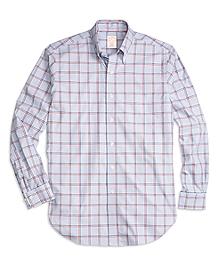 Golden Fleece® Madison Fit Bold Windowpane Sport Shirt