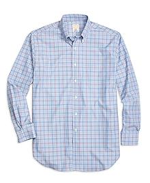 Golden Fleece® Regent Fit Check with Windowpane Sport Shirt