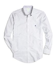 Non-Iron BrooksCool® Milano Fit Double Stripe Sport Shirt