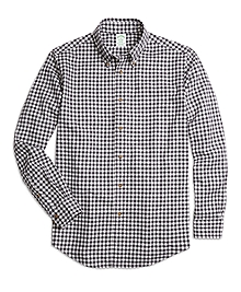 Milano Fit Flannel Gingham Sport Shirt