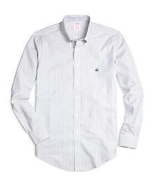 Non-Iron BrooksCool® Madison Fit Double Stripe Sport Shirt